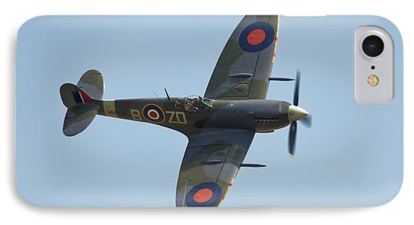 Spitfire Mk9 Phone Case by Ian Merton