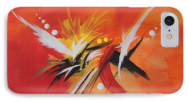 Splash Of Imagination IPhone Case by Art Spectrum