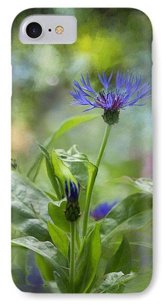Splendor In The Garden IPhone Case by Belinda Greb