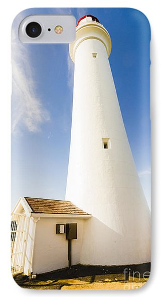 Split Point Lighthouse IPhone Case by Jorgo Photography - Wall Art Gallery