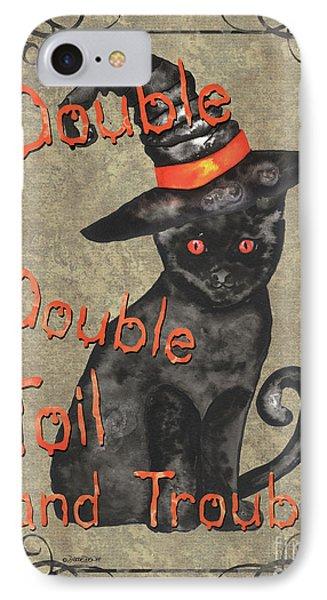 Spooky Pumpkin 3 IPhone Case by Debbie DeWitt