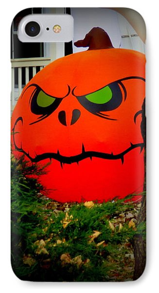 Spooky Time 2 IPhone Case by Diane M Dittus