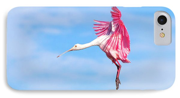 Spoonbill Ballet IPhone Case by Mark Andrew Thomas
