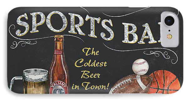 Sports Bar IPhone 7 Case by Debbie DeWitt