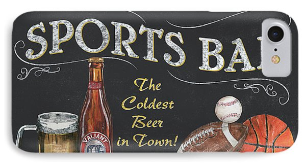 Sports Bar IPhone Case by Debbie DeWitt