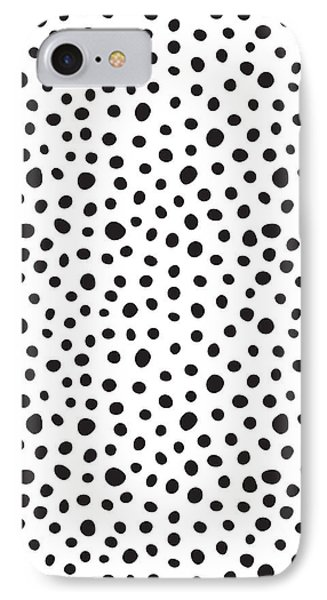 Spots IPhone Case by Rachel Follett
