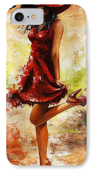 Spring Breeze IPhone Case by Emerico Imre Toth