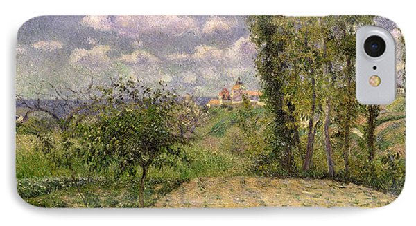 Spring IPhone Case by Camille Pissarro
