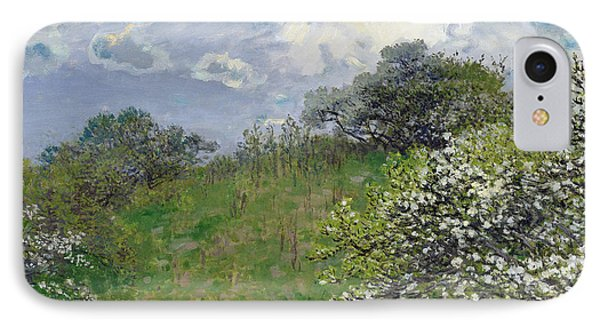 Spring IPhone Case by Claude Monet