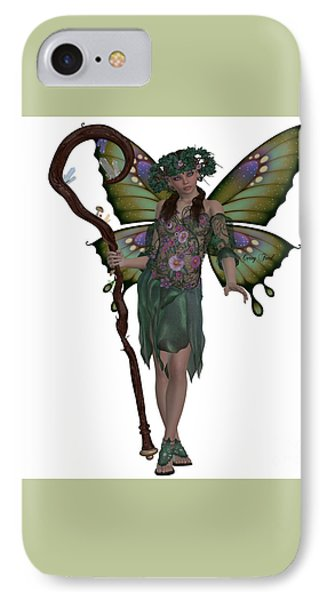 Spring Fairy Phone Case by Corey Ford