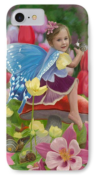 Spring Fairy IPhone Case by Lucie Bilodeau