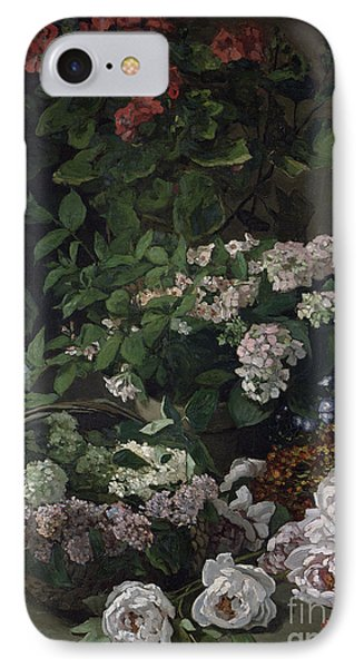 Spring Flowers IPhone Case by Claude Monet