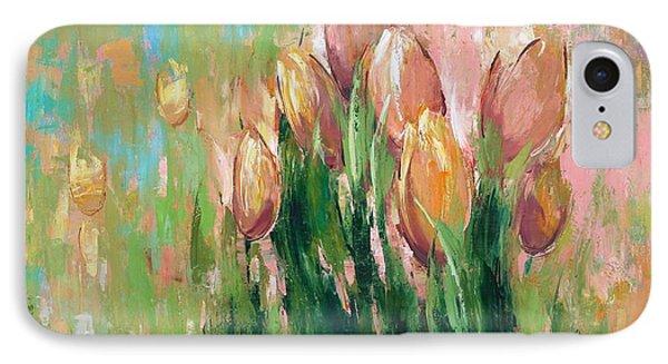 Spring In Unison IPhone Case by Anastasija Kraineva