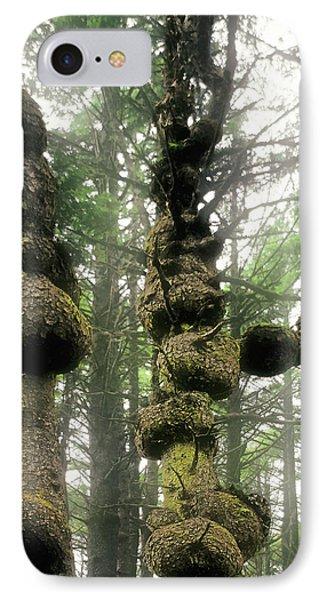 Spruce Burl Olympic National Park Beach 1 Wa Phone Case by Christine Till