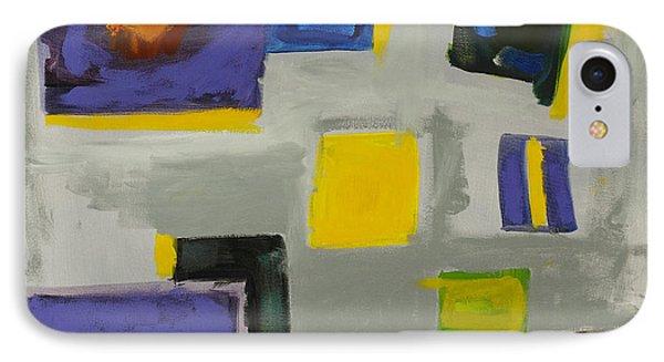 Squares Phone Case by Katie OBrien - Printscapes