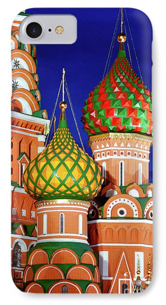 St Basils Cathedral In Moscow Russia Phone Case by Oleksiy Maksymenko