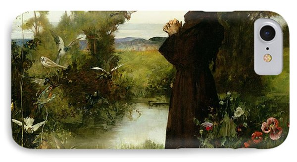 St. Francis Phone Case by Albert Chevallier Tayler