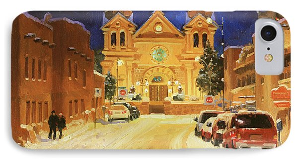 St. Francis Cathedral Basilica  Phone Case by Gary Kim