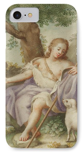 St John The Baptist IPhone Case by Austrian School