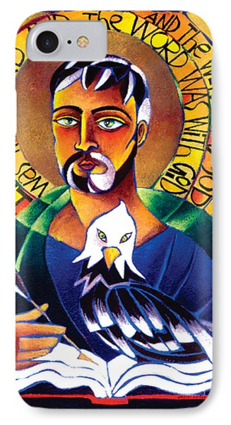 St. John The Evangelist - Mmjev IPhone Case by Br Mickey McGrath OSFS