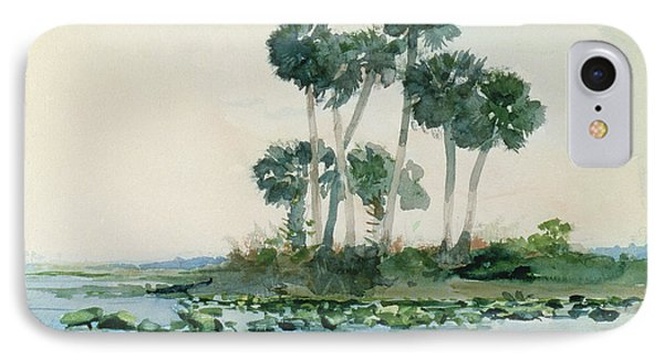St John's River Florida IPhone Case by Winslow Homer