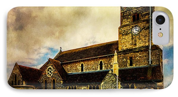 St. Leonard's Church IPhone Case by Chris Lord