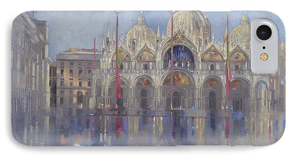 St Mark's -venice IPhone Case by Peter Miller