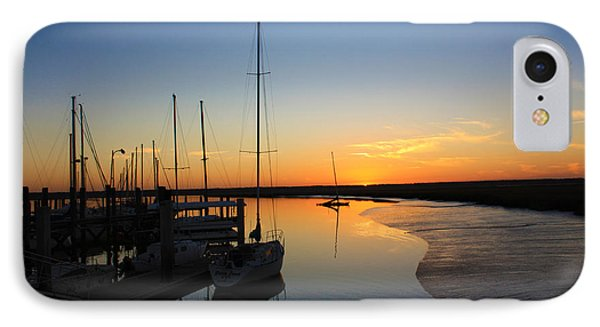 St. Mary's Sunset IPhone Case by M Glisson
