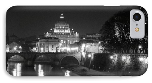 St. Peters At Night IPhone Case by Donna Corless