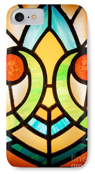 Stained Glass Detail IPhone Case by Jane Rix