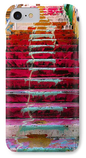 Stairs IPhone 7 Case by Angela Wright