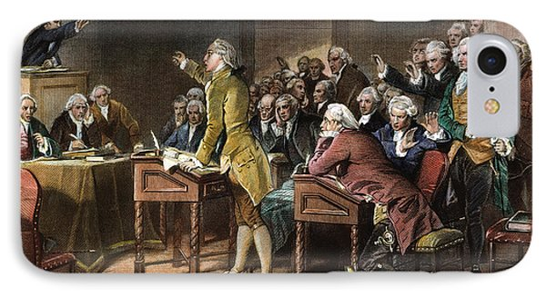 Stamp Act: Patrick Henry Phone Case by Granger