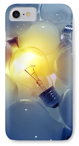 Standing Out From The Crowd IPhone Case by Les Cunliffe