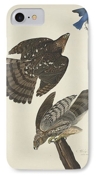 Stanley Hawk IPhone 7 Case by John James Audubon
