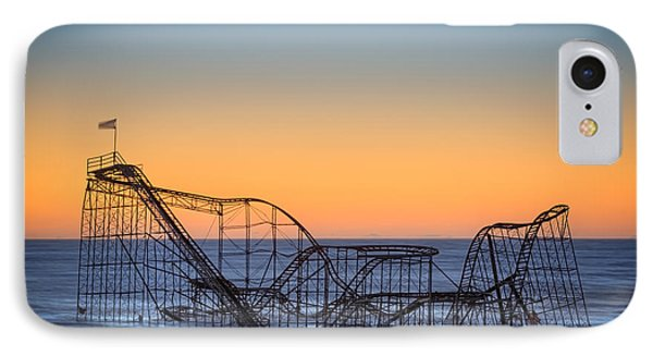Star Jet Roller Coaster Ride  IPhone Case by Michael Ver Sprill