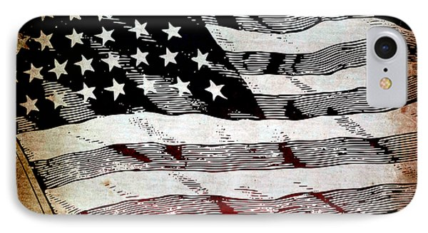 Star Spangled Banner Phone Case by Angelina Vick
