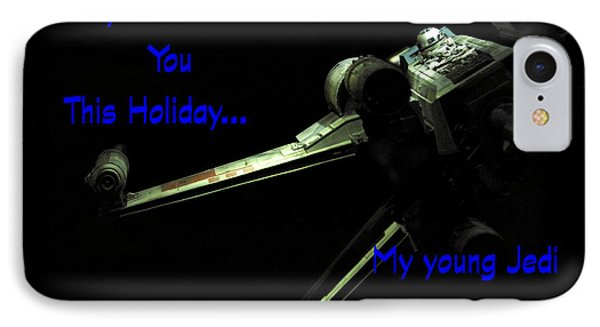 Star Wars Birthday Card 5 IPhone Case by Micah May