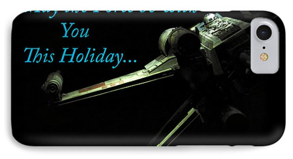 Star Wars Birthday Card 6 IPhone Case by Micah May