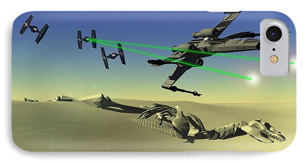 Star Wars IPhone Case by Michael Greenaway