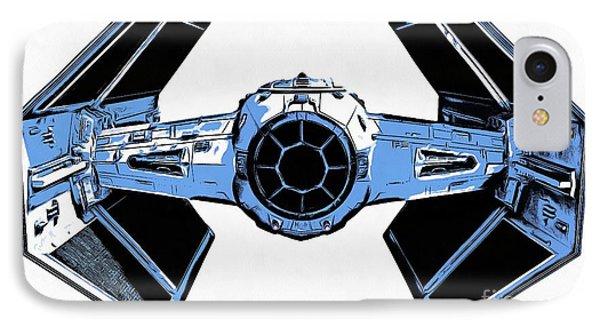 Star Wars Tie Fighter Advanced X1 IPhone 7 Case by Edward Fielding