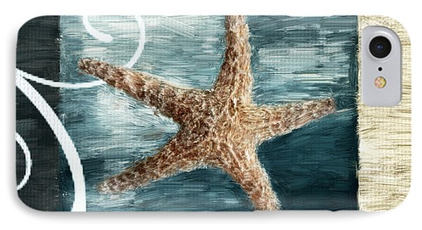 Starfish Spell IPhone Case by Lourry Legarde