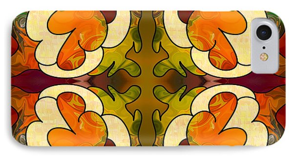 Staring Into The Abyss Abstract Art By Omashte IPhone Case by Omaste Witkowski