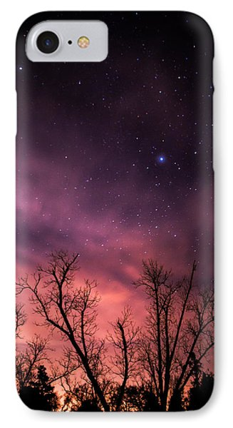 Stars At Sunset IPhone Case by Shelby  Young