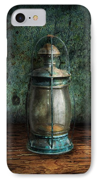 Steampunk - An Old Lantern IPhone Case by Mike Savad