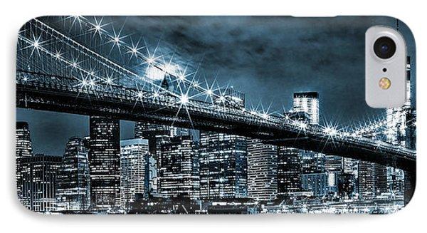 Steely Skyline IPhone Case by Az Jackson