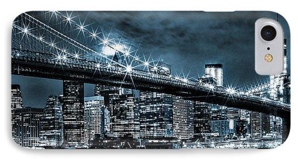Steely Skyline IPhone 7 Case by Az Jackson