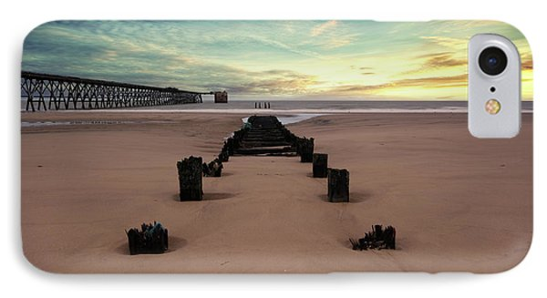 Steetly Pier IPhone Case by Nichola Denny