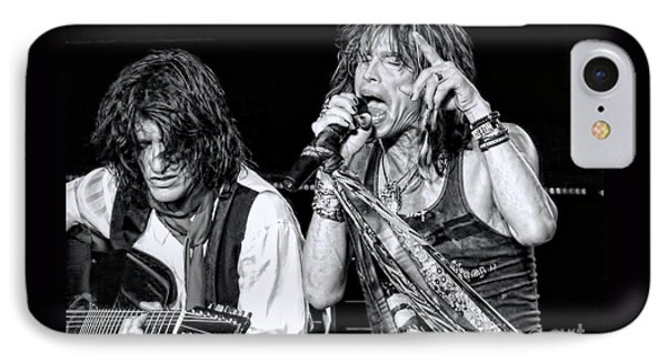 Steven Tyler Croons IPhone 7 Case by Traci Cottingham