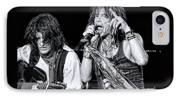 Steven Tyler Croons IPhone Case by Traci Cottingham