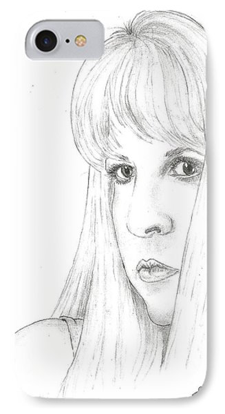 Stevie  IPhone Case by Steven White